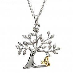 Baum des Lebens Dreiheit Anhänger