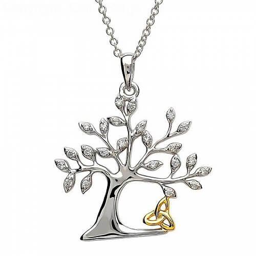 Tree Of Life Trinity Pendant