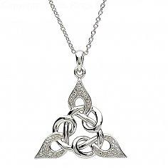 Celtic Knot Design Silver Pendant