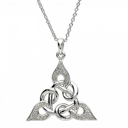 Celtic knot design silver pendant celtic rings ltd celtic knot design silver pendant aloadofball Gallery