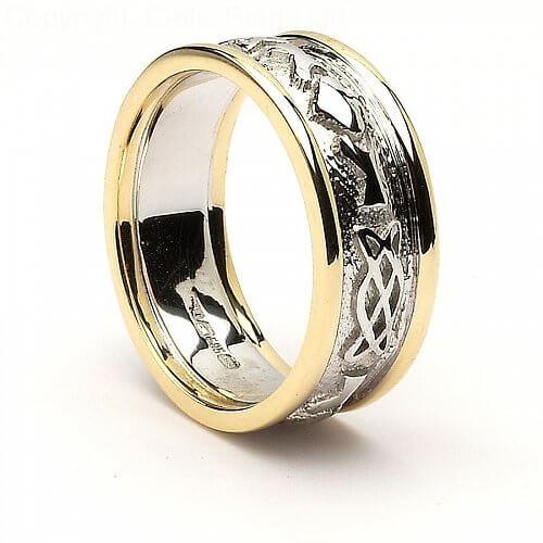Nassau Claddagh Wedding Ring