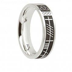 Damen Silber Seelenfreund Ring