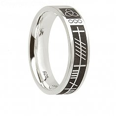 Womens Silver Soul Mate Ring