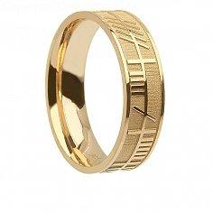 Herren-Gold-Seelenfreund Ring