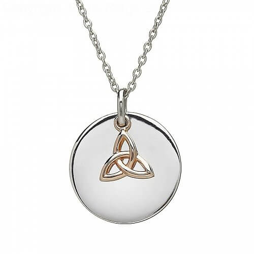 Trinity Knot Charm Pendant