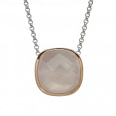 Irish Rose Quartz Pendant