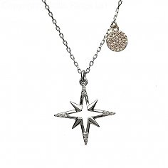 Irish Star CZ Pendant