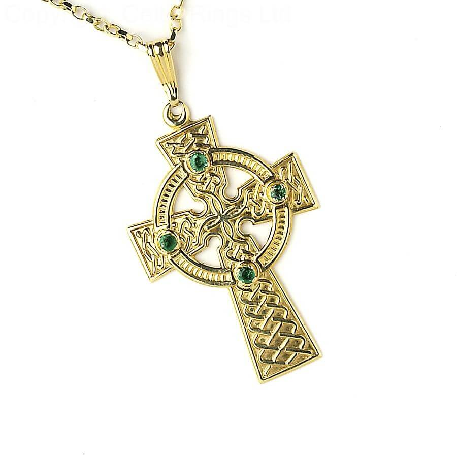 marcasite necklec marcastie silver sterling cross celtic necklace