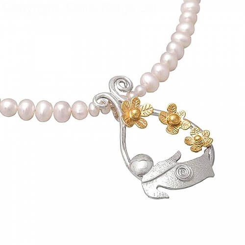 Irish Luck Pearl Pendant