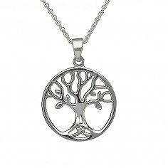 Collier de l'arbre de vie en argent