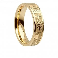Womens Gold Soul Mate Ring