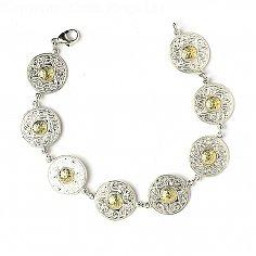 Petit Guerrier celtique Bracelet 18k Perle