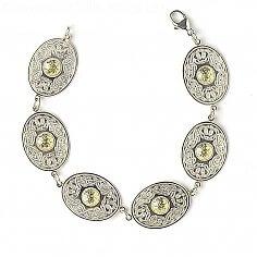 Oval Guerrier celtique Bracelet