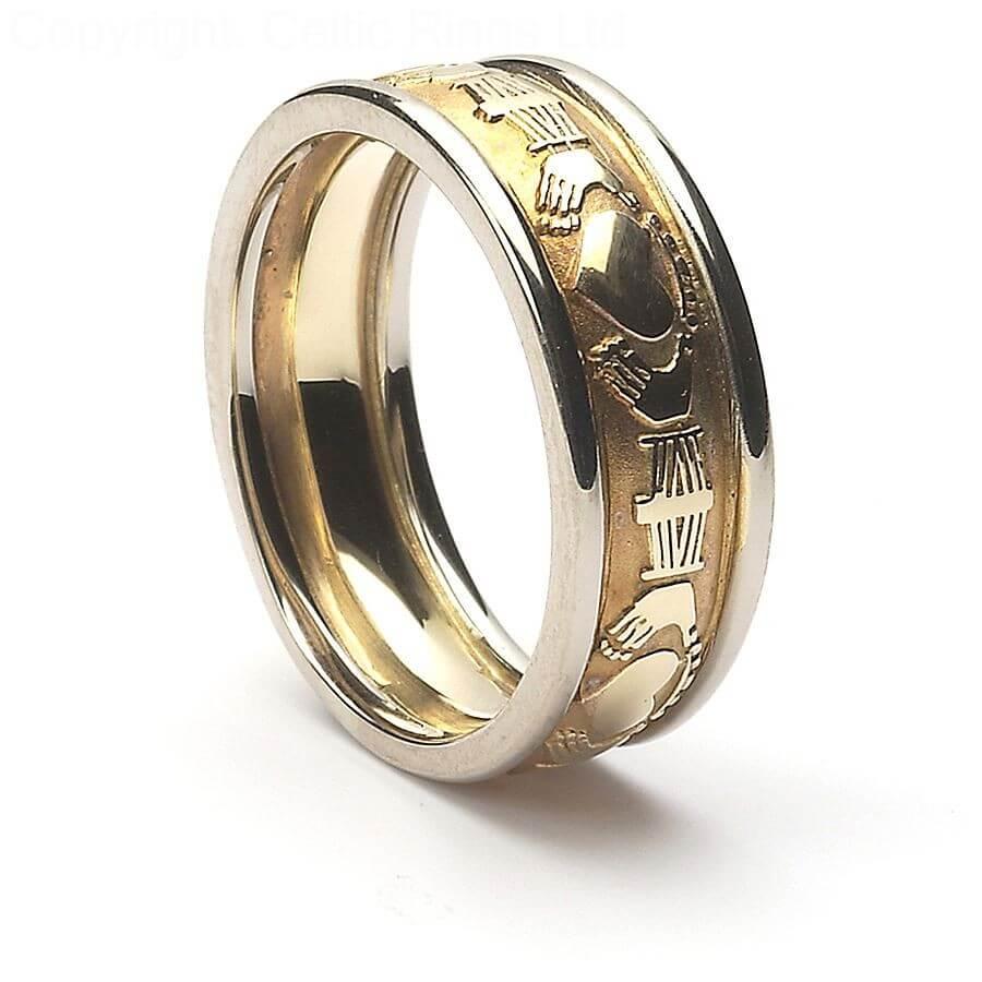 noreen claddagh wedding ring - Mens Claddagh Wedding Ring