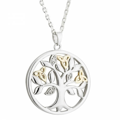 Trinity Tree of Life Pendant
