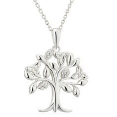 Tree of Life CZ Necklace