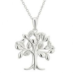 Baum des Lebens CZ Halskette