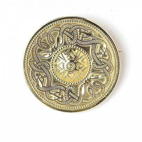 Celtic Warrior Brooch