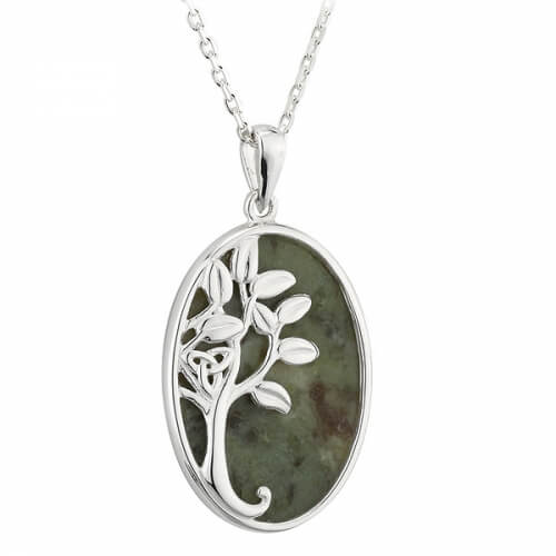 Marble Tree of Life Pendant