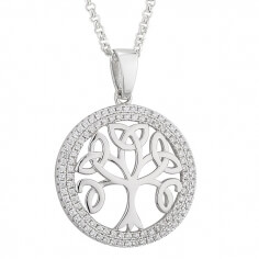 Tree of Life with CZ Trim