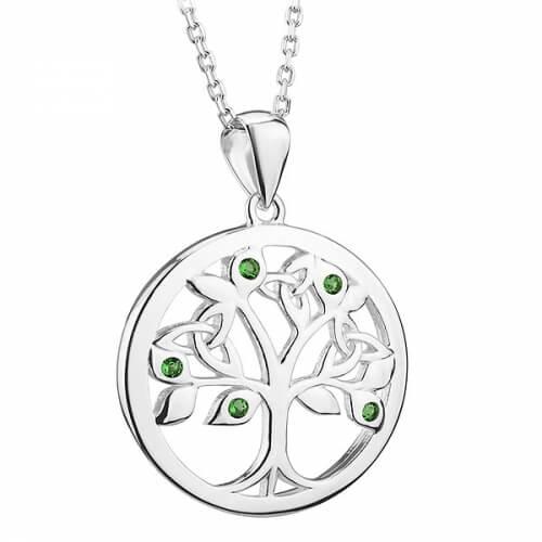 Smaragdbaum des Lebens Anhänger