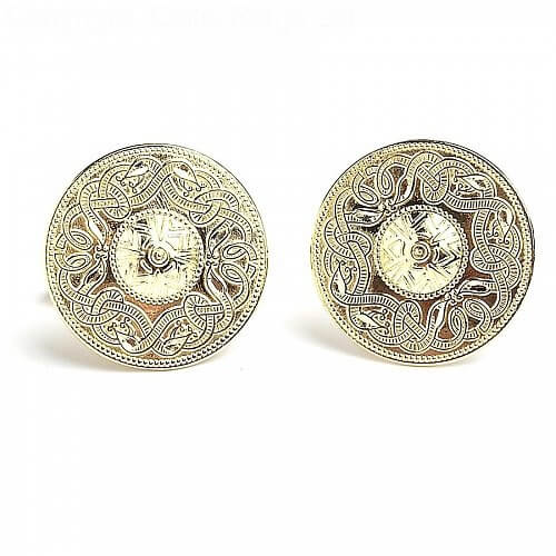 Large Celtic Warrior Cufflinks