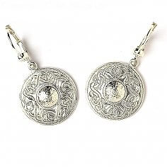 Small Celtic Warrior Earrings