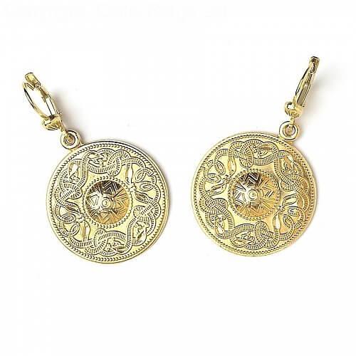 Large Celtic Warrior Earrings