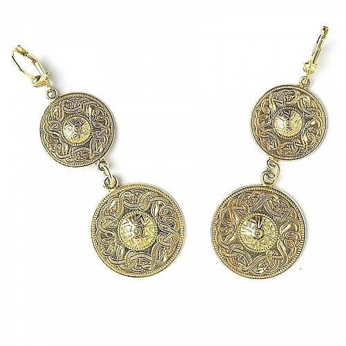 Celtic Warrior Double Earrings