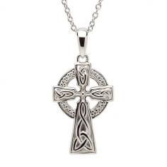 Silber Trinity Kreuz
