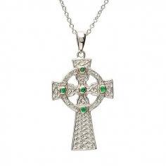 Croix celtique Design - Argent