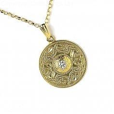 Grand Guerrier celtique avec pendentif diamant