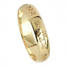 Irish Friendship Ring - Yellow Gold