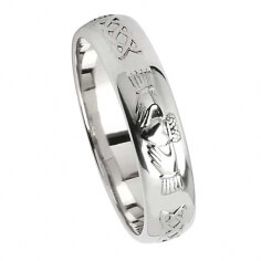 Silver Friendship Ring