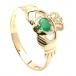 Irischer Verlobungsring - Gelbes Gold