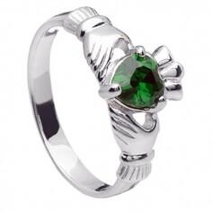 Mai Claddagh Ring - Silber