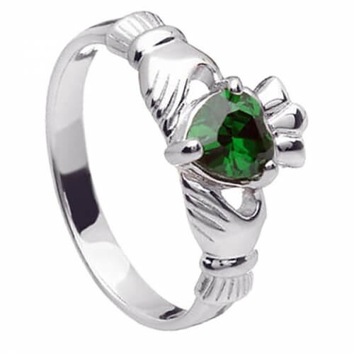 May Claddagh Ring - Silver