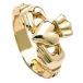 Klassischer Claddagh Ring für Herren - Gold