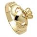 Mittel Claddagh Ring - Gold