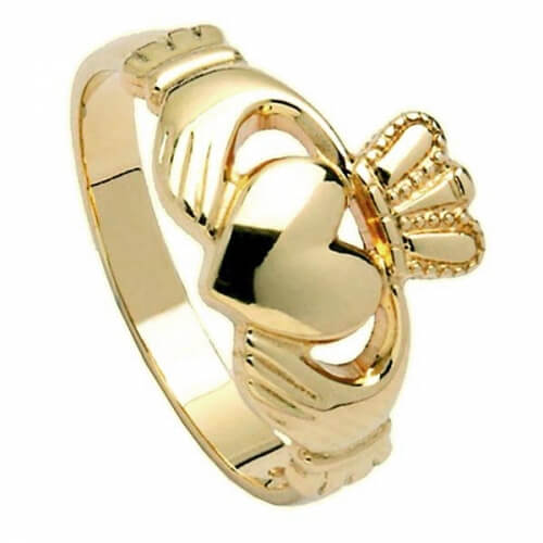 Medium Claddagh Ring - Gold