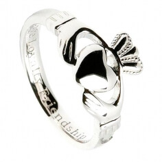 Femmes Coupe confort Claddagh Ring