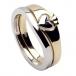 Claddagh Zwei-Ton-Ring