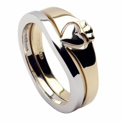 Claddagh Two Tone Ring