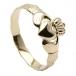 Claddagh Ring für Kinder - Gelbgold