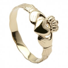 Child's Claddagh Ring - Yellow Gold