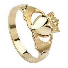 Womens Claddagh Promise Ring