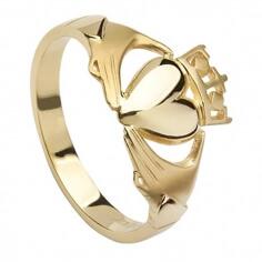 Claddagh Versprechen Ring