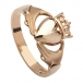 Rose Gold Versprechen Ring