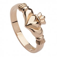 Roségold Claddagh Ring