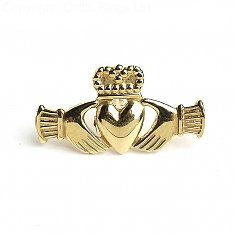 Claddagh droite Tie Pin